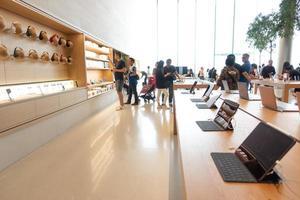 Bangkok, Thailand- Apple Store Icon Siam, Bangkok, Thailand photo