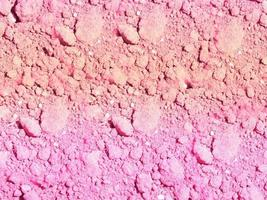 Pink earth texture photo