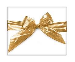 regalo de arco de oro foto