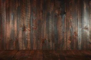 fondo vacío sucio de madera. insertar texto u objetos foto