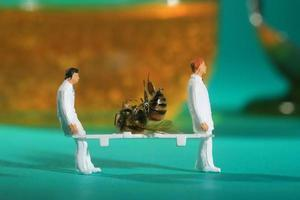 Tiny Miniature Scaled People in Curious Concepts photo