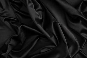 black Silk background photo