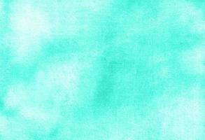 Abstract pastel watercolor hand painted background texture. aquarelle abstract emerald backdrop. horizontal template photo