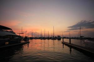 Outdoor, Boats and Yacht harbor photo