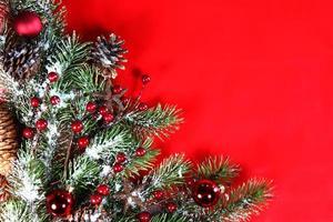 Fondo de pantalla de vacaciones de Navidad para agregar texto foto