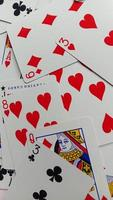 Photo of playing cards, photos of brain teasers