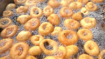 Fried Dough Street Food video