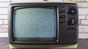 Searching for Channel on Old Television video