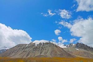 china, pakistán, frontera, paisaje, karakoram, montañas, vista foto