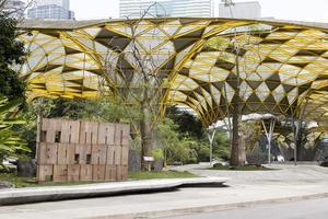 laman perdana hermosa arquitectura pabellón jardines botánicos de perdana jardines del lago foto