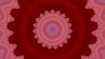 Dynamic colourful glow background. 4K kaleidoscope footage. video
