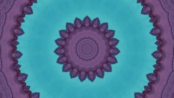 Circular abstract background. Kaleidoscope texture, symmetric effect. video