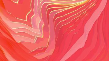 topografía ondulada abstracta, animación 4k, video