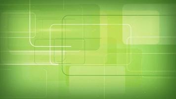 Green rectangular shapes seamless loop background video