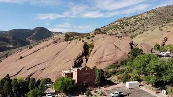 Poste de traite des roches rouges - Colorado video