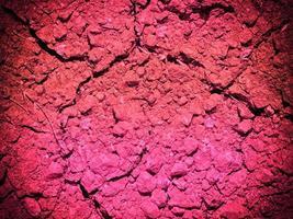 textura tierra rosa foto