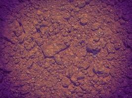textura de suelo al aire libre foto