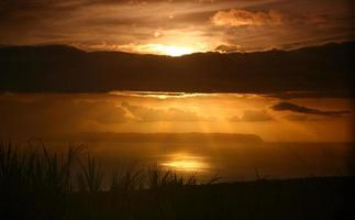 God Light Through the Clouds photo