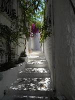 Mediterranean architecture in the Aegean Sea in Turkey, Marmaris photo