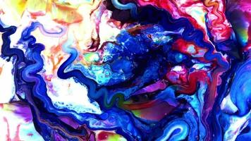Abstract Paint Texture Background video
