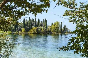 Lake Garda and the beauty of Punta San Vigilio. photo