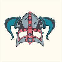 viking warrior icon vector illustration