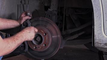 Brakes And Brake Pad Disc with Wheel Nuts Repair and Replacement video