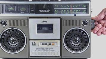 Vintage Cassette Player video