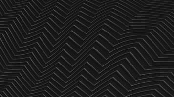 Superficie metálica de animación 3D formando un patrón de onda sin fisuras. video
