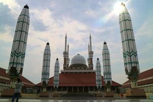 18 July 2021, Masjid Agung Jawa Tengah MAJT. Semarang, Indonesia photo