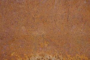 Rust on the surface of the old iron sheet photo
