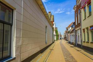 Cityscape Panorama streets buildings and architecture Groningen Holland Netherlands photo