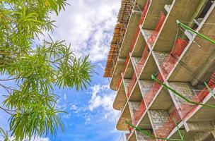 construir un complejo hotelero sitios de construcción playa del carmen mexico foto