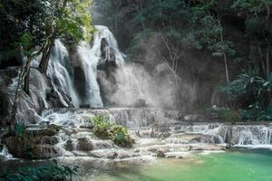 Kuang Si waterfalls, Luang Prabang, Laos photo