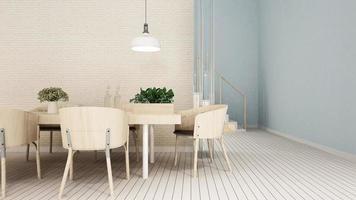 dining area in apartment or condominium photo