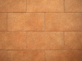 brown tiled floor background photo