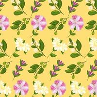 spring nature icons vector