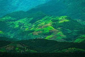 Beautiful mountains landscape photo