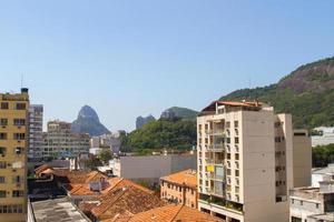 buildings in the Botafogo neighborhood in Rio de Janeiro. photo