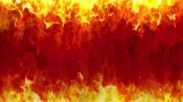 flame loop effect video