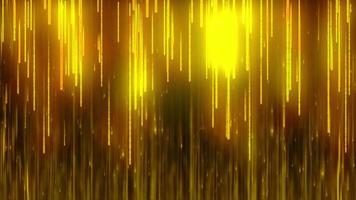 gold particle line fall background loop animation video