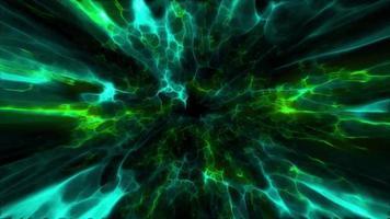 green shockwave effect explosion video