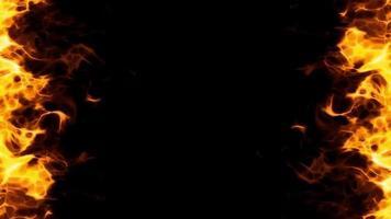 fire corner loop effect video