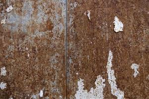 Dirty and rusty wall photo