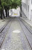 Old Lisbon tram photo