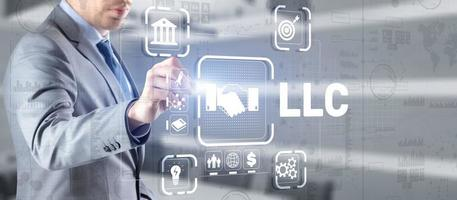 LLC. Limited Liability Company. Business Technology Internet photo