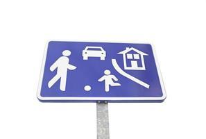 información de la señal de tráfico foto