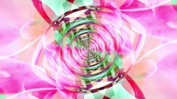 poder naturaleza llamarada luz patrón hipnótico video