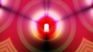 resplandor llamarada luz llamarada luz hipnótica caleidoscopio rotación video