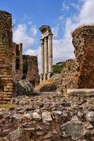 Ruins of the Imperial Forums of Ancient Rome photo